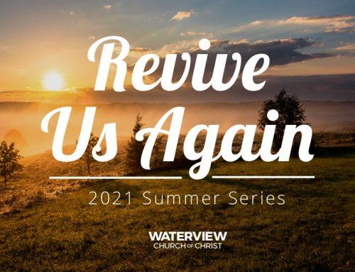 Revive Our Fellowship